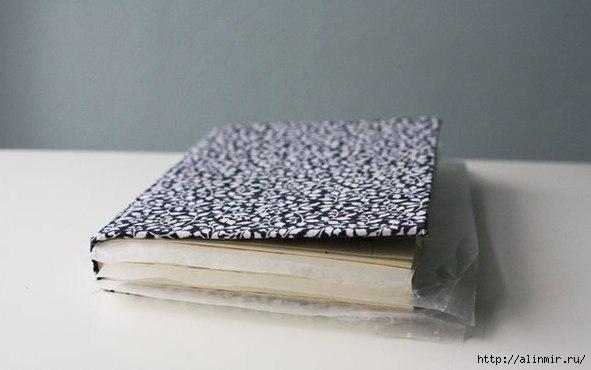 Оригинальный клатч из ненужной книги3 (591x370, 82Kb)
