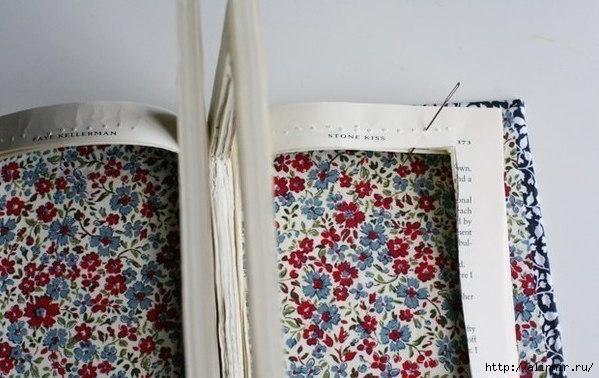 Оригинальный клатч из ненужной книги6 (599x378, 151Kb)