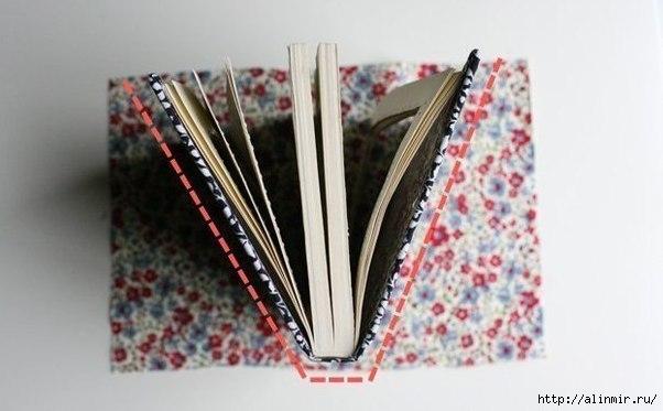 Оригинальный клатч из ненужной книги7 (602x373, 104Kb)