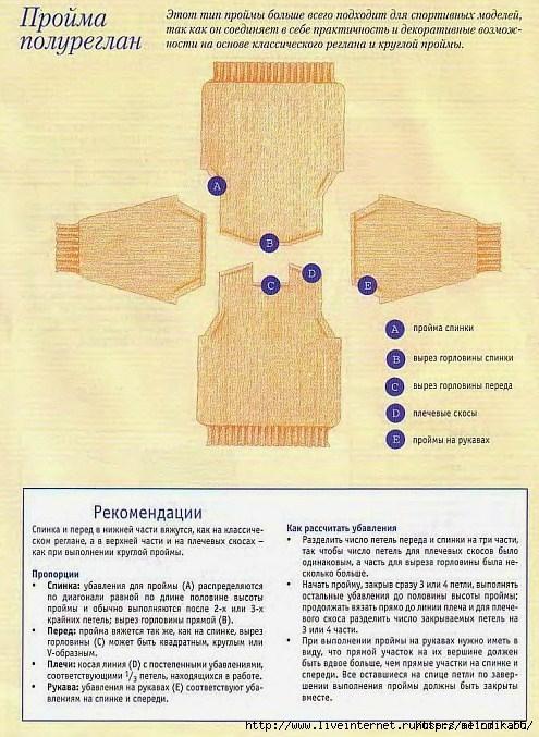 вязание петли полуреглан (495x677, 270Kb)