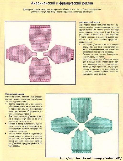 вязание петли регланы (515x675, 297Kb)