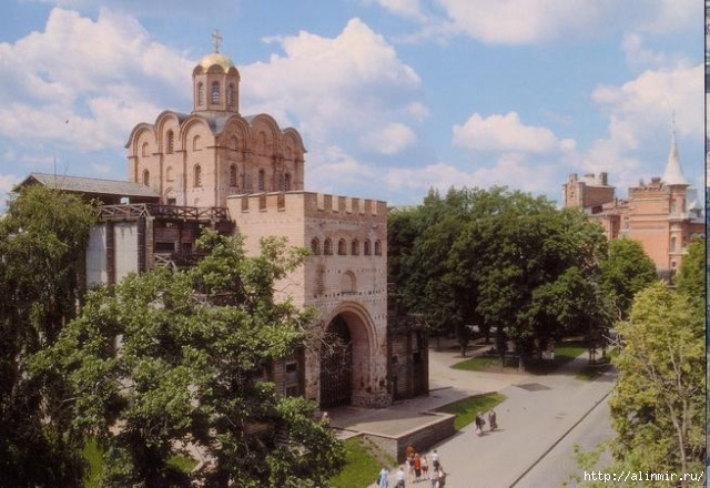 киев Золотые ворота, Киев (640x440, 202Kb)