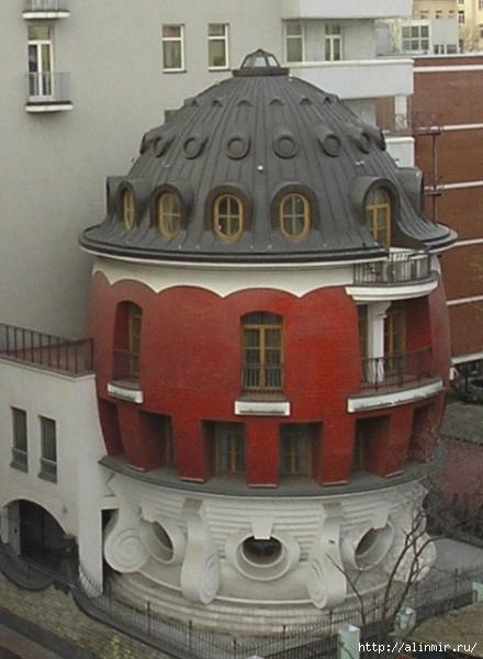 Москва Это называется Дом-яйцо (440x600, 143Kb)