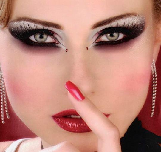 свадебный макияж2 (540x509, 162Kb)