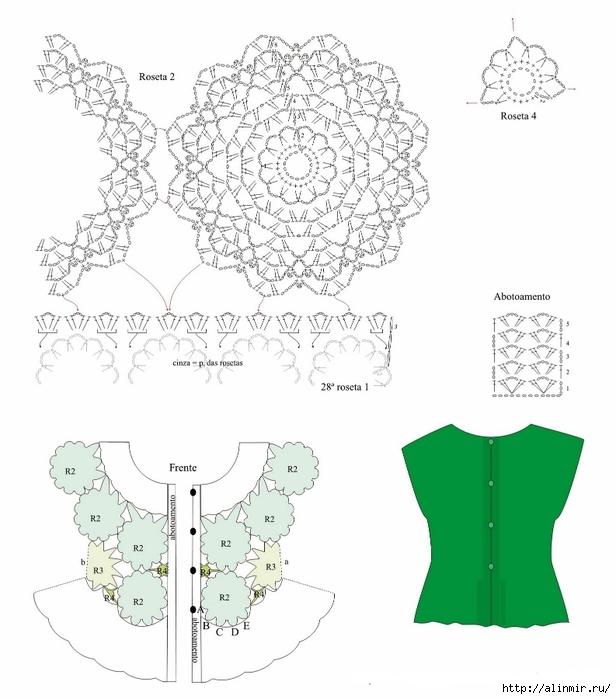 ажурная блуза крючком 2 (616x699, 190Kb)