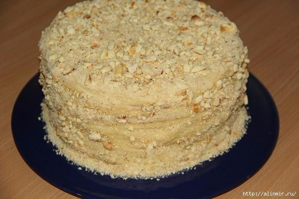 Торт со сгущенкой на сковороде 1 (604x403, 131Kb)