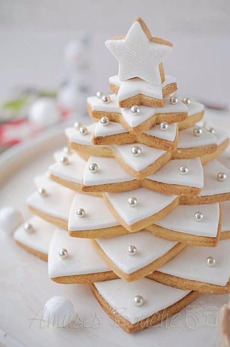 печенье елка