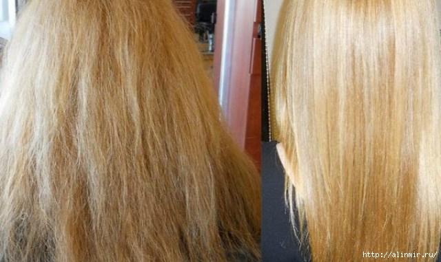 аспирин для тусклых волос
