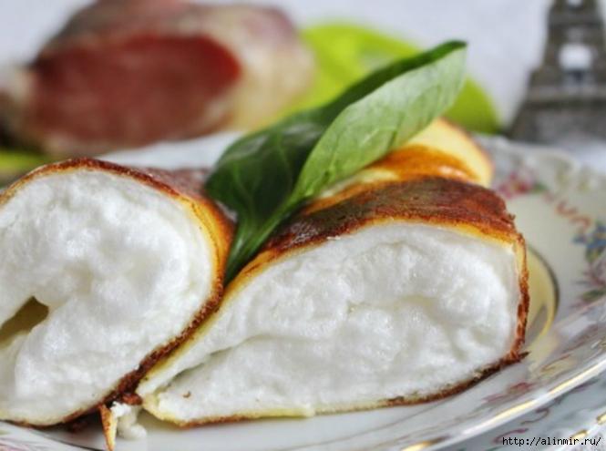 Французская кухня Омлет матушки Пуляр