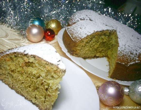 Греческий новогодний пирог