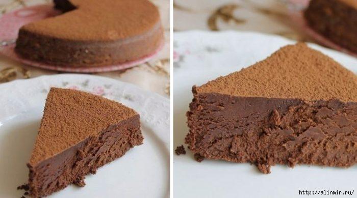 Трюфель Евы: очень шоколадно и нежно, просто тает во рту!