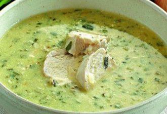 Очень вкусный густой грузинский куриный суп Чихиртма