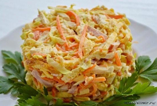 Вкусные салаты быстрого приготовления