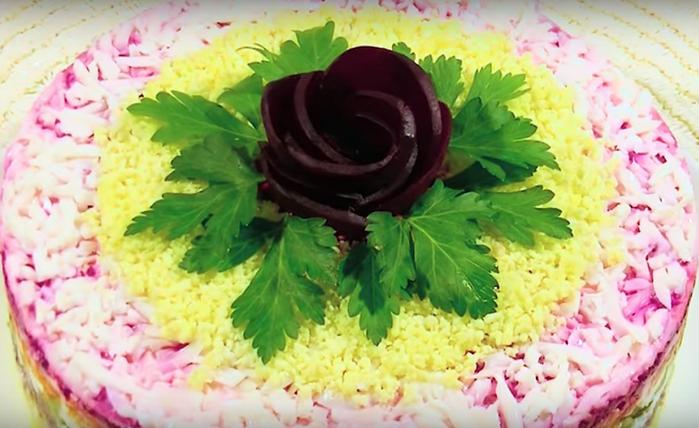 Очень вкусный салат «Восхищение»