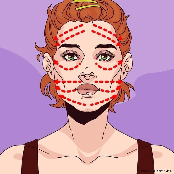 Уход за лицом для подтягивания обвисшей кожи