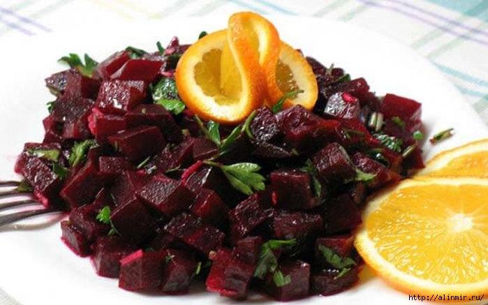 7 вкусных салатов из свеклы. Отличная подборка