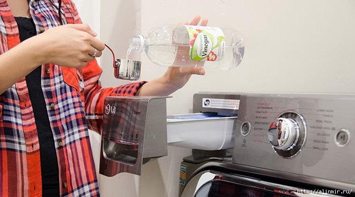 Пятна исчезнут, если вы добавите в стиральную машину