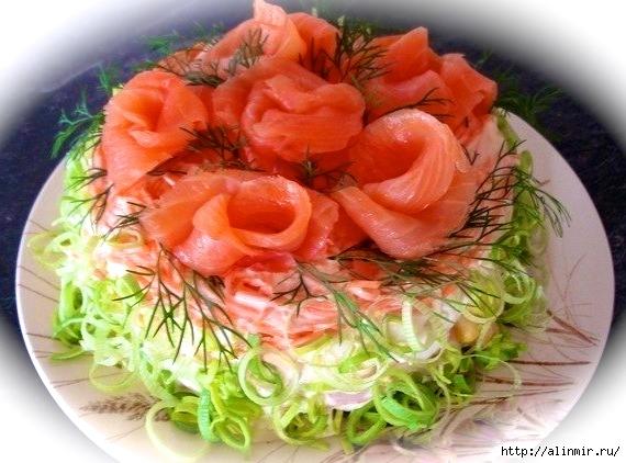 Красивый Салат «Королевская шуба»