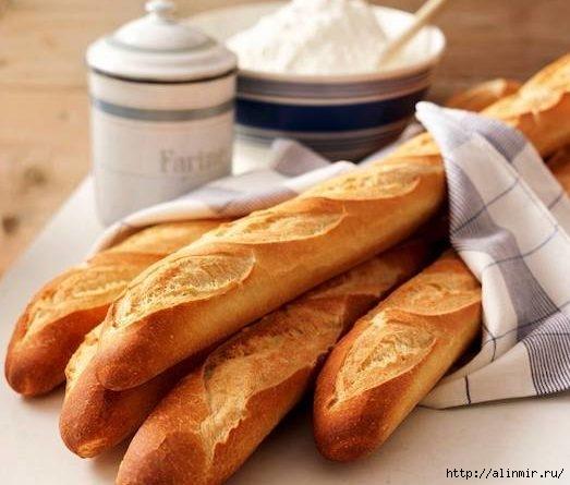 Как испечь французский багет дома?