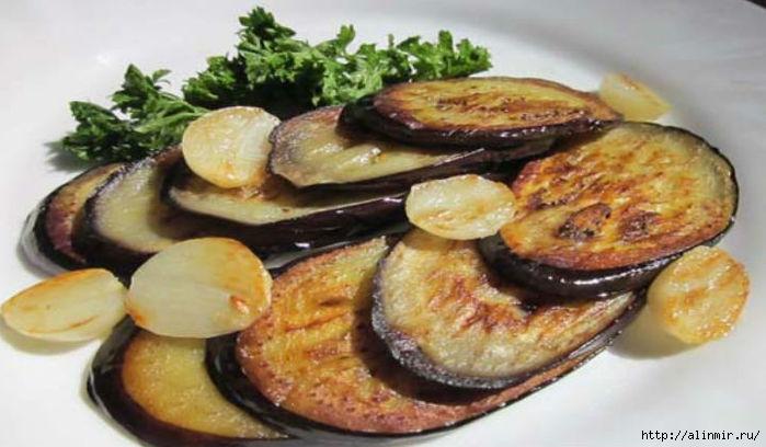 Рецепты приготовления жареных баклажан: быстро и вкусно
