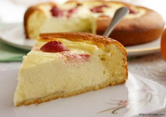 нежный Пирог-ватрушка
