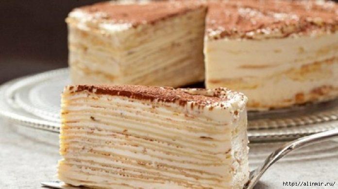 Торт «Kрепвиль»