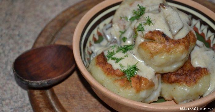 Готовим белорусские пызы: необычное тесто с мясом
