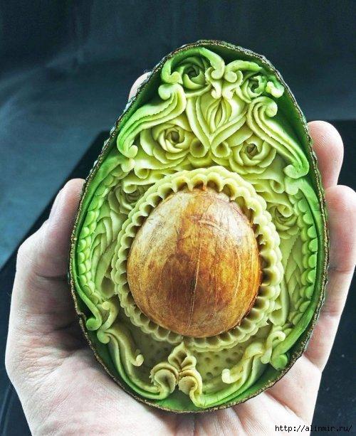 авокадо карвинг (500x613, 204Kb)