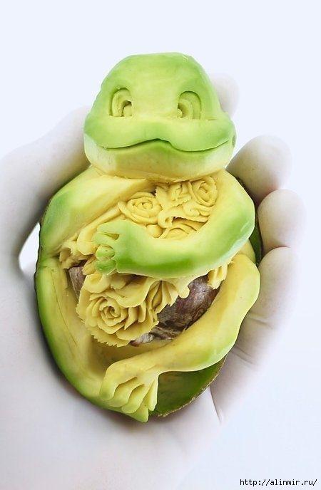 авокадо лягушонок (450x688, 110Kb)