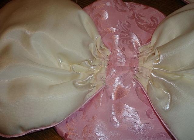как сшить декоративную подушку 14